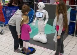 robot pepper infantil