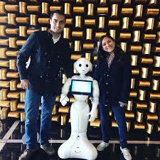 Robot Pepper para photocall