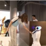 Robots negocios para retail sanbot