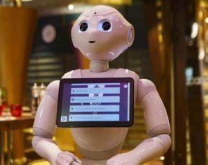 Robot Pepper Punto información y recogida datos