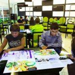 Mesas interactivas restaurante