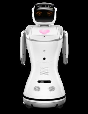 Alquiler Robos para eventos con proyector y pantalla