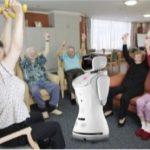 Robot Sanbot Salud para negocios