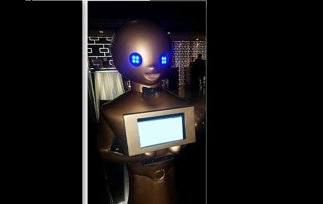Robot soluciones negocios