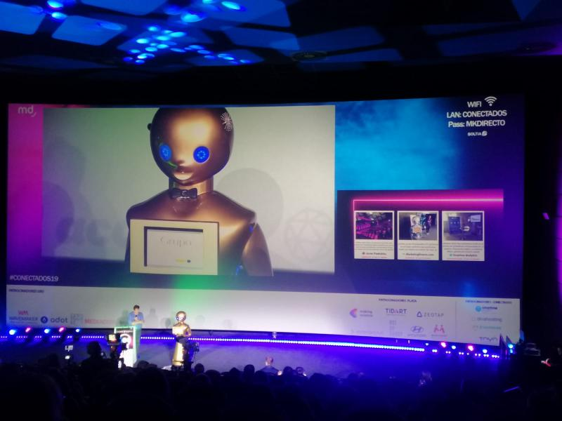 Robot Presentaciones
