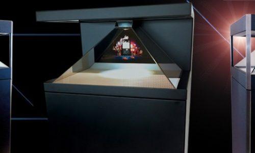 Hologramas Pirámide Eventos y puntos de venta