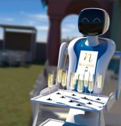 Robots para Negocios y Eventos hoteles