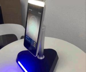Robot control temperatura mesa