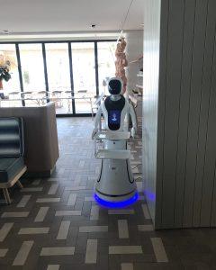 Robots camareros -newminds