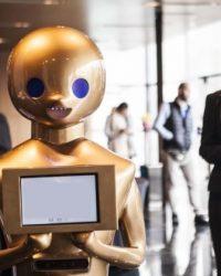 Robot Recepcionista Personalizable