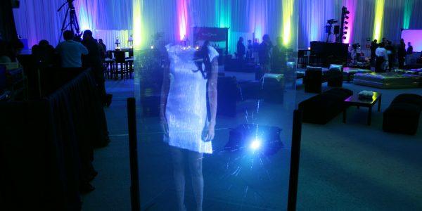 Holograma Crista eventos