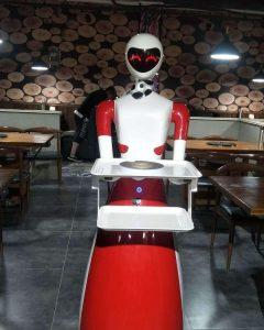 Robots para Hoteles camareros